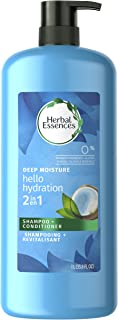 Herbal Essences Hello Hydration 2 in 1 Moisturizing Shampoo & Conditioner, 33.8 fl oz, Packaging May Vary