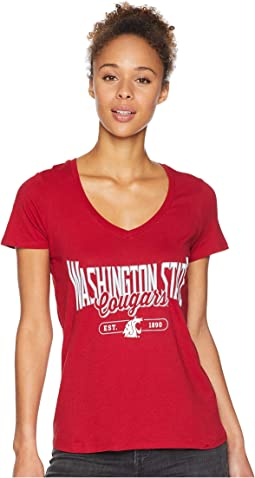 Washington State Cougars University V-Neck Tee