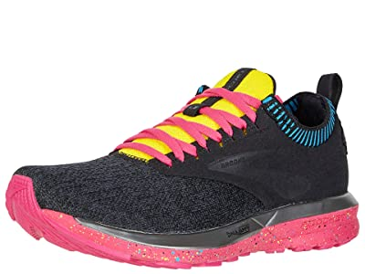 Brooks Ricochet (Black/Pink/Yellow) Women