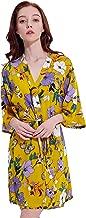 Best kimono robe yellow Reviews