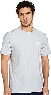 adidas mens D2M HEATHER ELASTANE T-SHIRT T-Shirt