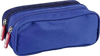 Textil, 2 Rei/ßverschl/üsse, oval, 22 x 8 x 10cm, Lasche aus Metall Clairefontaine 8346C Schlamperm/äppchen 1 St/ück t/ürkis