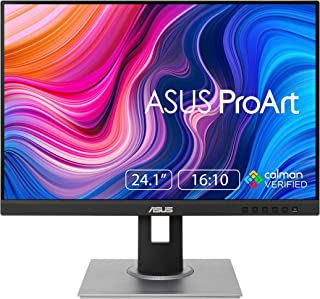 ASUS ProArt Display PA248QV Professional Monitor – 24.1-inch, 16:10, IPS, WUXGA (1920 x 1200), 100% sRGB, Calman Verified,...