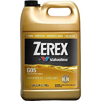 Antifreeze Coolant, 1 gal., 50/50, ZXGO51