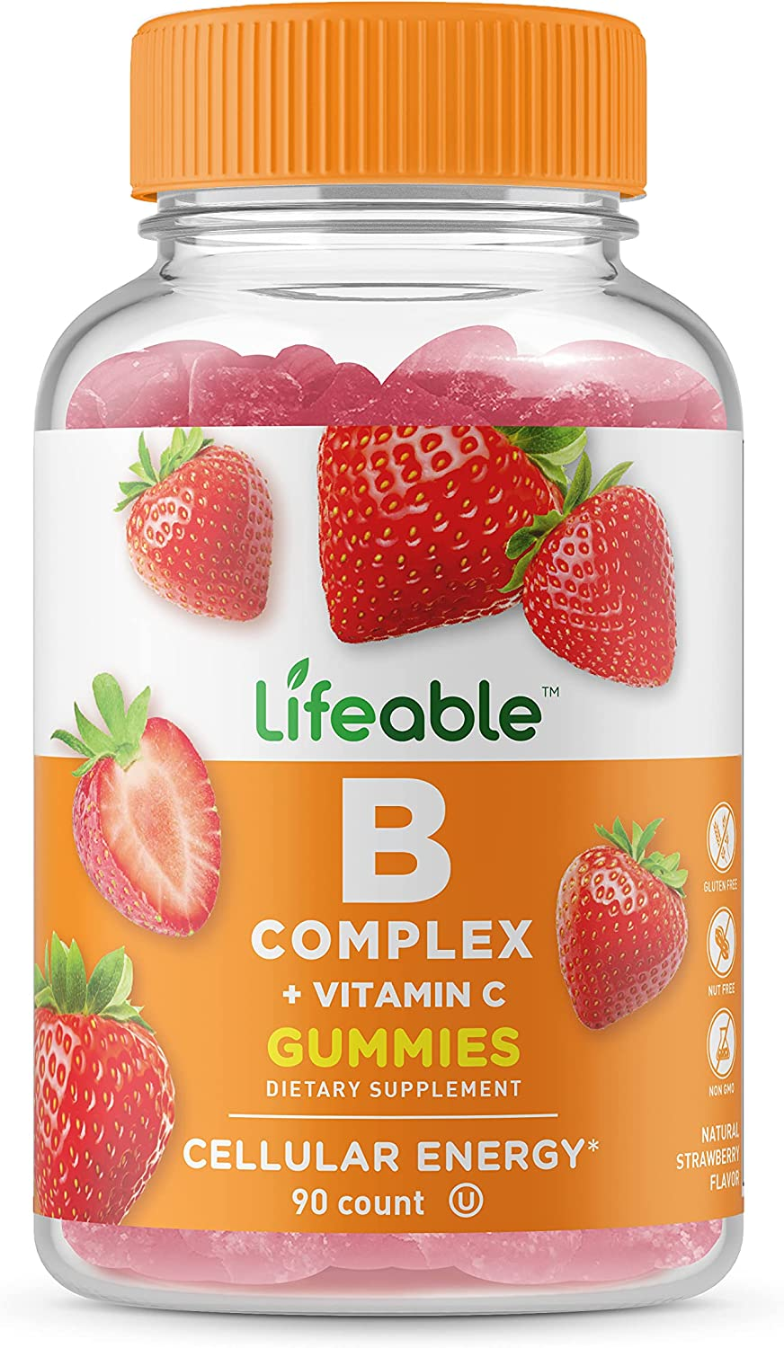 Popularity Super intense SALE Lifeable Vitamin B Complex with Tasting C N Great –