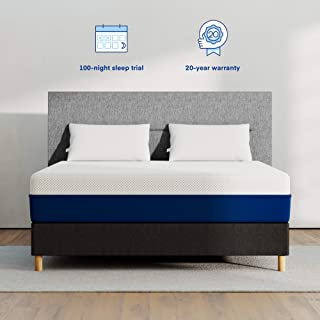 AMERISLEEP AS2 Medium Firm (KING) Luxury Mattress (Back/Stomach Sleepers Support)   Bed in a Box   Celliant Cover   Bio-Pur Plant Based Material   Cooler than Memory Foam   USA   20-Year Warranty