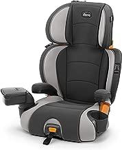Chicco KidFit Zip 2-in-1 Belt Positioning Booster Car Seat, Steel Grey