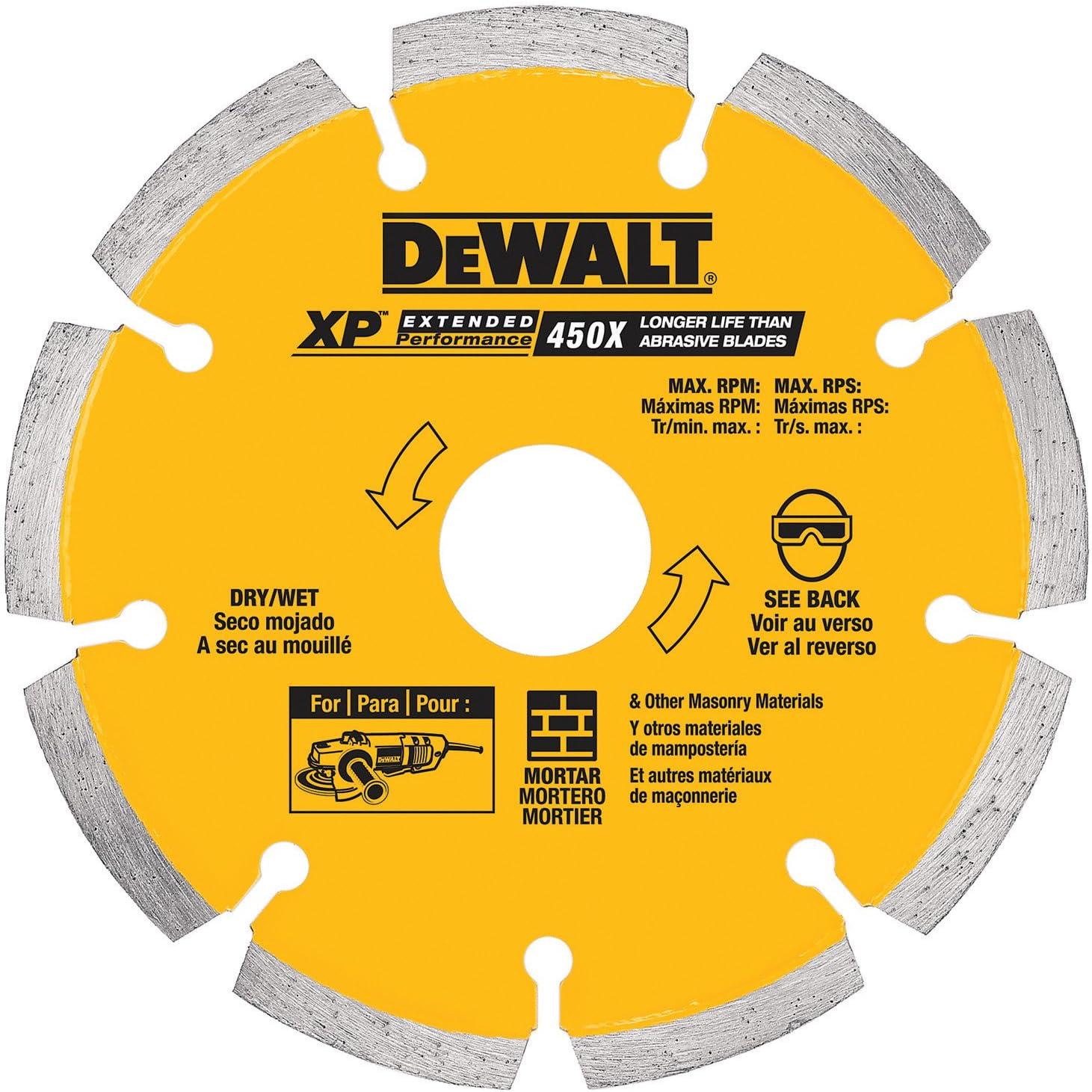 DEWALT DW4710 4-Inch Tuck Point Diamond Saw with Blade 5 8-Inch New Max 85% OFF Free Shipping