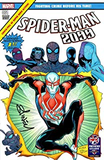 SPIDER-MAN 2099 #1 PREVIEWS UK EXCLUSIVE VARIANT MARVEL COMICS