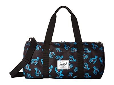 Herschel Supply Co. Sutton Mid-Volume (Black Cyan Screaming Hand) Duffel Bags