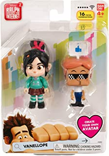 Bandai Namco Wreck it Ralph 2 Figure Vanellope Collectible Toy Figure