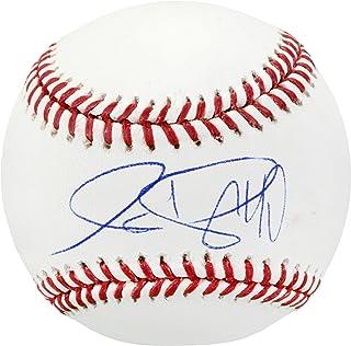 Christin Stewart Detroit Tigers Autographed Baseball - Fanatics Authentic Certified - Autographed Baseballs