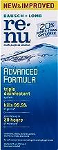Bausch + Lomb renu Advanced Formula Multi-Purpose Eye Contact Lens Solution, 12 Ounce Bottle