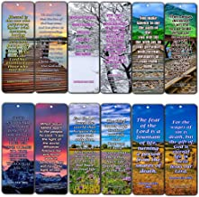 Life Bible Verses Bookmarks NIV (60 Pack) - Perfect Giftaway for Sunday School