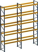 Palletrek rek voor zware last, 4,80 m x 2,50 m (lxh), 2 veld/per vaklast 1500 kg, met 30 zetplaatsen