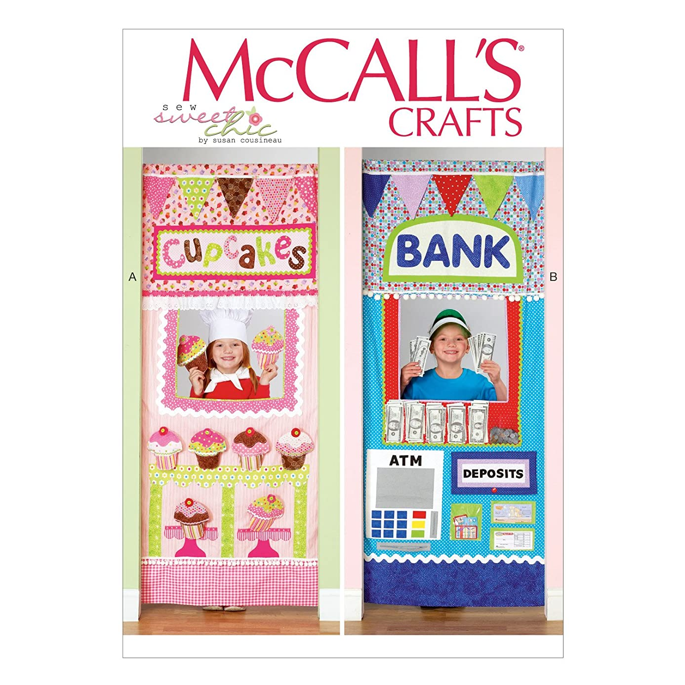 McCall's Patterns M7136 Doorway Play Shops, One Size Only