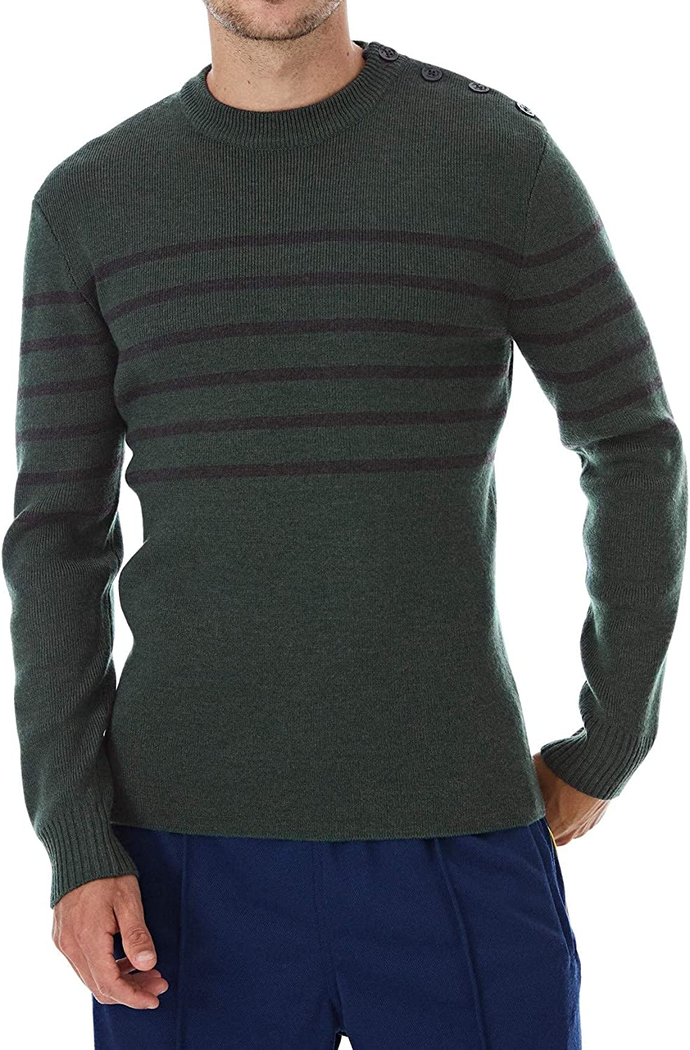 Lello Men Japan Maker New Knitted Popular brand Wool Blend Buttoned Essent Sweater Sustainable