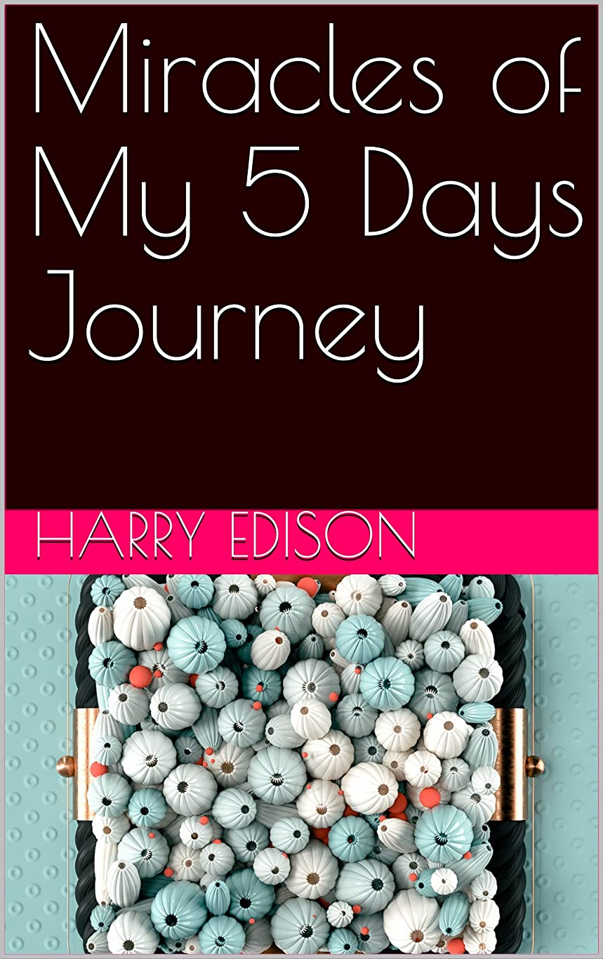 有効乳白不毛Miracles of My 5 Days Journey (English Edition)