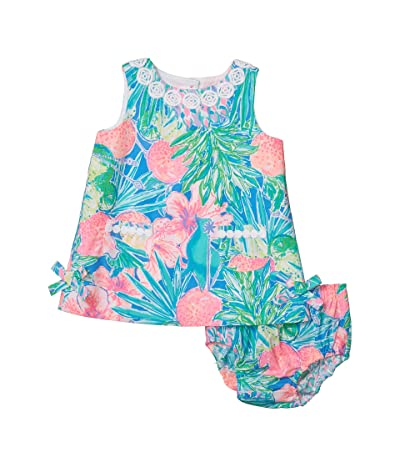 Lilly Pulitzer Kids Baby Lilly Shift Dress (Infant) (Multi Swizzle In) Girl
