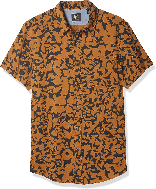 Dockers Camisa de popelín lavado Supreme Flex de manga ...