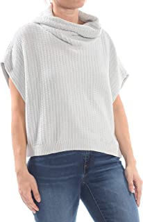 Womens Cropped Short Sleeves Sweater