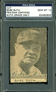 Best babe ruth autograph psa Reviews