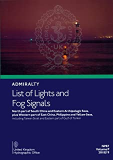 NP87 Admiralty List of Lights and Fog Signals Volume P: North part of South China and Eastern Archipelagic Seas