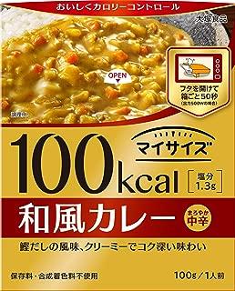 大塚食品 マイサイズ 和風カレー 100g×10個