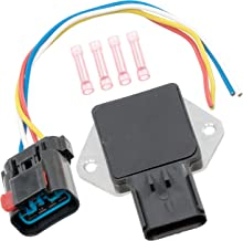 APDTY 013414 Radiator Fan Control Relay w/Wire Wiring Harness Pigtail Connector (Note: If Melting Occurred, Radiator Fan Replacement Is Usually Also Neccesary, Replaces 5017491AB, 4897034AA)