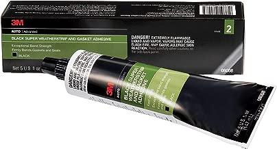 3M 08008 Black Super Weatherstrip Adhesive Tube