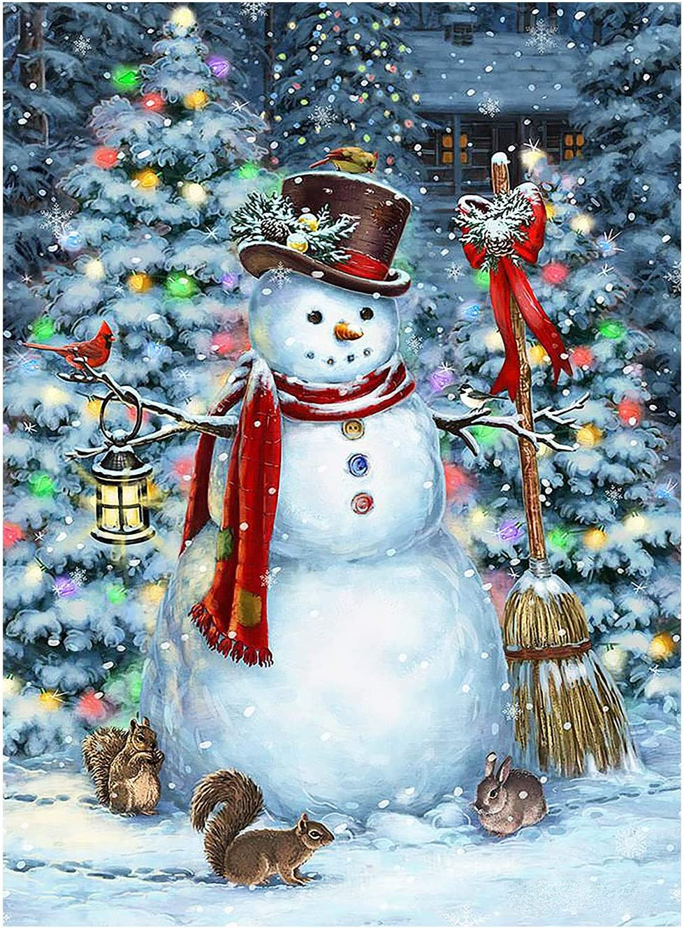 Winter Snowman Christmas Garden Flag Xmas Max 41% OFF Sale SALE% OFF Double Snow Snowflakes