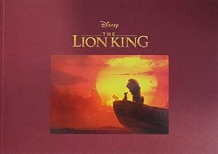 【映画パンフレット】 ライオン・キング THE LION KING 監督 ジョン・ファヴロー 声 ドナルド・グローヴァー、ビヨンセ