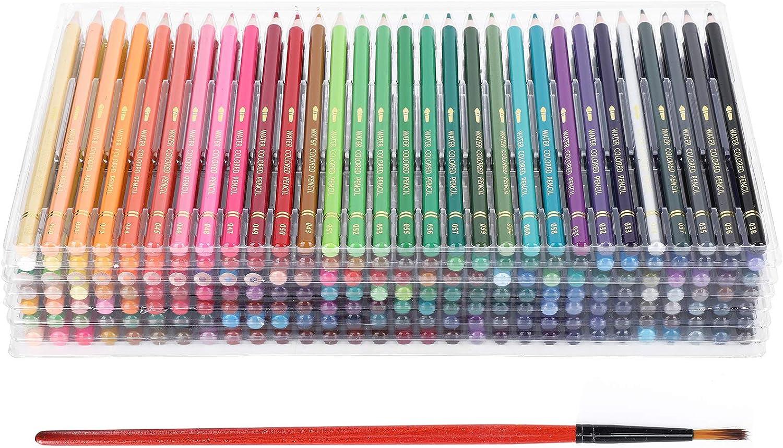 210Pcs Colored Pencils Set Soft Core Pencil Artis Charlotte Dallas Mall Mall Color for