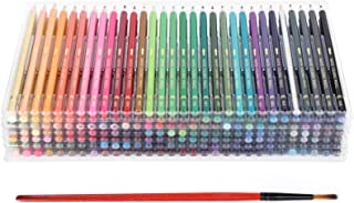 210Pcs Colored Pencils Set, Water‑Soluble Core Colored Pencils, Professional Painting Colored Pencils 210 Colors Art Drawi...