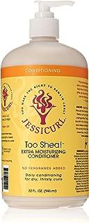 Jessicurl Too Shea Extra Moisturizing Conditioner, 32.0 Fluid Ounce