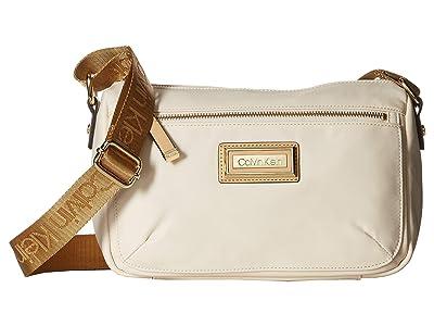 Calvin Klein Belfast Nylon Crossbody (Light Golden Sand) Cross Body Handbags