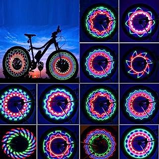 TGJOR Bike Wheel Lights, LED Waterproof Bicycle Spoke...