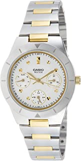 Casio Enticer for Men - Analog Stainless Steel Band Watch - LTP-2083SG-7AVDF