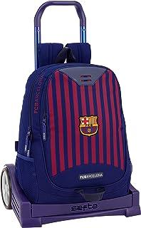 FC Barcelona ST611829860 Equipaje para niños, Azul, 44 cm