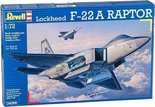 Revell Modellbausatz 04386 - Lockheed F-22 A Raptor im Ma ab 1 72