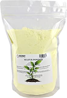 Yellow Sulfur Powder Greenway Biotech Brand 3 Pounds