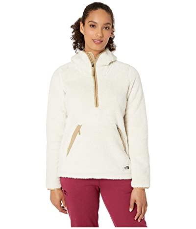 The North Face Campshire Pullover Hoodie 2.0 (Vintage White/Kelp Tan) Women