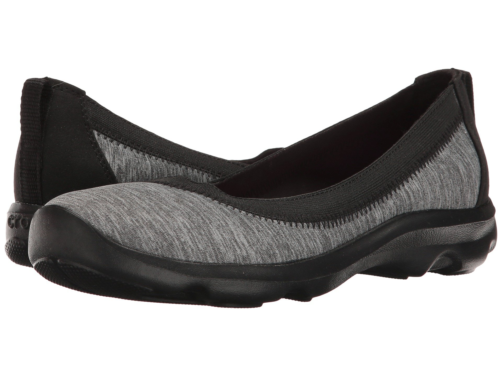 Baletas para Mujer Crocs Busy Day Stretch Flat Ballet NM Heathered  + Crocs en VeoyCompro.net