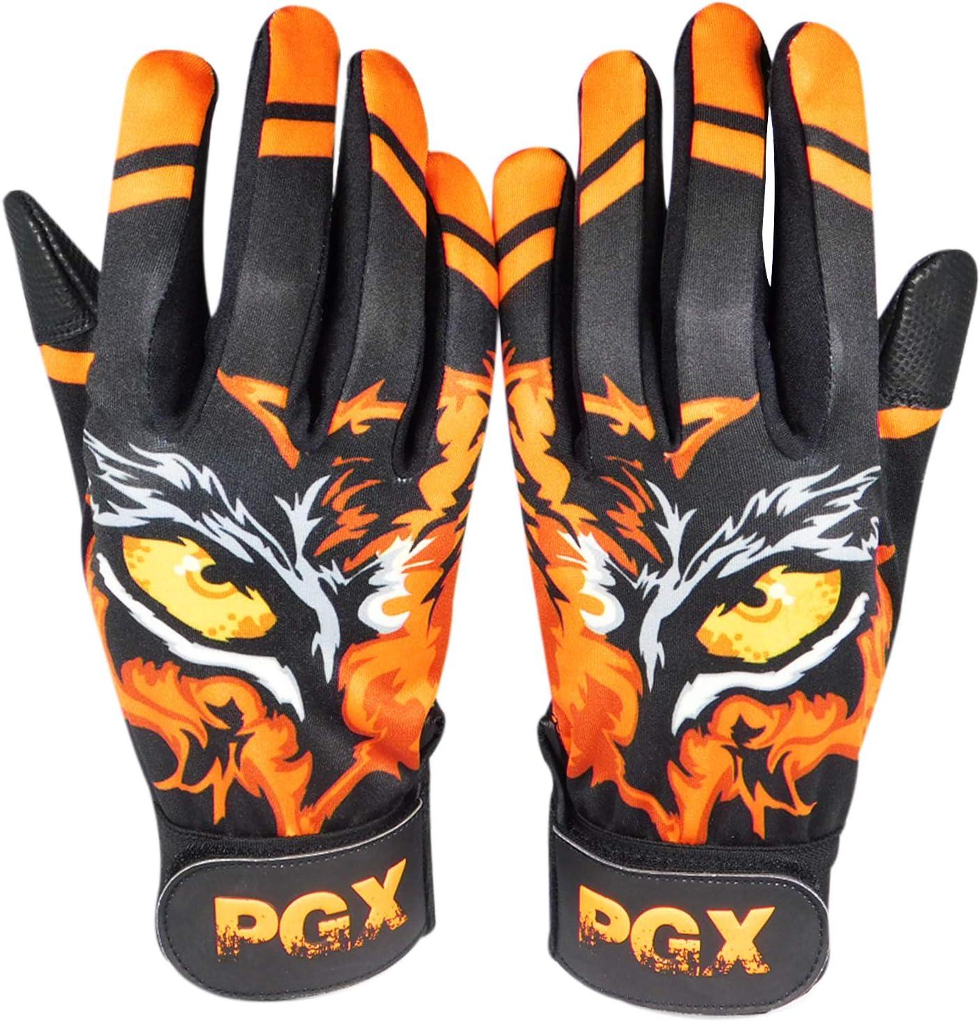 Youth PGX Eye of The Tiger Baseball Batting Gloves