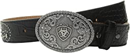 Ariat Flowers/Scroll Belt (Little Kids/Big Kids)