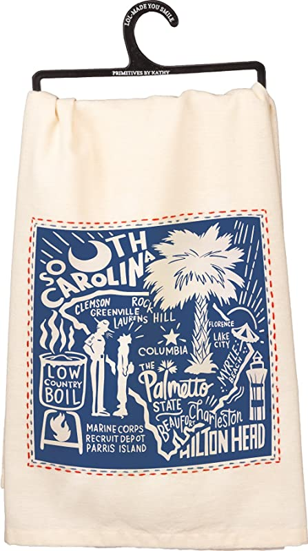 South Carolina Towel Primitives By Kathy