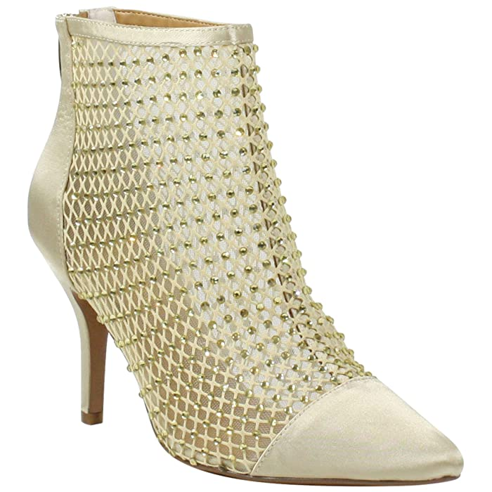 J. Renee Sosian (Gold Rhinestone) Women's Shoes