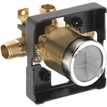 Delta Faucet R10000-UNWSHF MultiChoice Universal Shower Valve Body for Shower Faucet Trim Kits (with Screwdriver Stops)