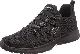 Skechers Men's Dynamight Black Walking Shoes