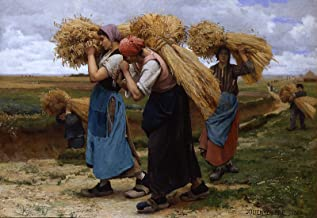 Julien Dupre The Gleaners 1880 Private Collection 30